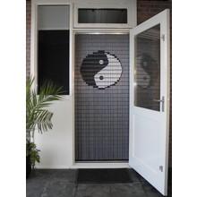 Liso ® 038 Fliegenvorhang mit Yin Yang - Do-it-yourself-Paket Preis / m²