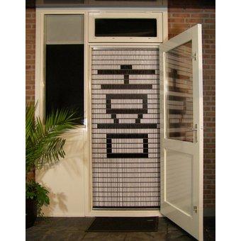 Liso ® Vliegengordijn DHZ-Pakket Liso® Chinees teken: Blijdschap - Doe-het-zelf pakket. Prijs per / m²