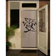 Liso ® 041 Vliegengordijn met Chinees teken: Liefde -  Doe-het-zelf pakket | Prijs / m²