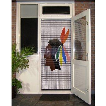 Liso ® Vliegengordijn DHZ Pakket Liso® Indiaan - Doe-het-zelf pakket. Prijs per / m²