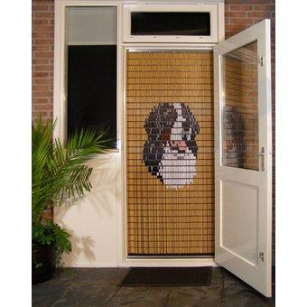 Liso ® Vliegengordijn DHZ-Pakket Liso® Berner Sennen - Doe-het-zelf pakket. Prijs per / m²