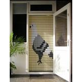 Liso ® 054 Vliegengordijn met Duif - Doe-het-zelf pakket | Prijs / m²