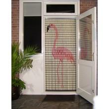 Liso ® 055 Vliegengordijn met Flamingo - Doe-het-zelf pakket   Prijs / m²