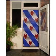 Liso ® 056 Vliegengordijn met Friesche Vlag - Doe-het-zelf pakket | Prijs / m²