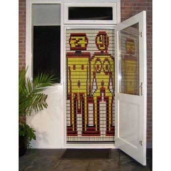 Liso ® Fliegenvorhang DIY-Paket Liso® Adam und Eva - Do-it-yourself-Paket. Preis pro m²