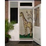 Liso ® 069 Vliegengordijn met Giraffe - Doe-het-zelf pakket | Prijs / m²