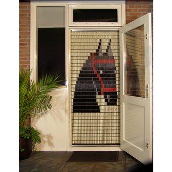 Liso ® Vliegengordijn DHZ-Pakket Liso® Friesch Paard - Doe-het-zelf pakket. Prijs per / m²