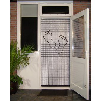 Liso ® Vliegengordijn DHZ-Pakket Liso® Voetjes (Pedicure) - Doe-het-zelf pakket. Prijs per / m²