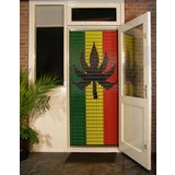 Liso ® 105 Vliegengordijn met Rasta vlag - Doe-het-zelf pakket | Prijs / m²