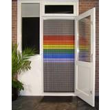 vliegengordijn Liso ® 109 Fliegenvorhang mit Regenbogenfahne - Do-it-yourself-Paket. Preis pro m²