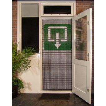 Liso ® Vliegengordijn DHZ-Pakket Liso® Uitgang - Doe-het-zelf pakket. Prijs per / m²