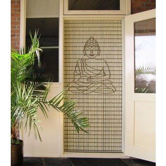 Liso ® Vliegengordijn DHZ-Pakket Liso® Boeddha klein - Doe-het-zelf pakket. Prijs per / m²