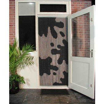Kriska ® Kettenvorhang | Fliegenvorhang bereit für den Einsatz 92x209 Cow Spots