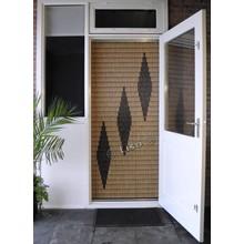 Miami ® Vliegengordijn Miami 3 ruiten - kant en klaar 92 x 209