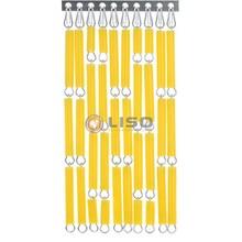 Liso ® Vliegengordijn Geel - Doe-het-zelf pakket / m2