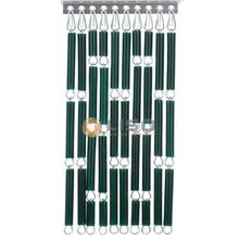 Liso ® Vliegengordijn Donkergroen - Doe-het-zelf pakket / m2