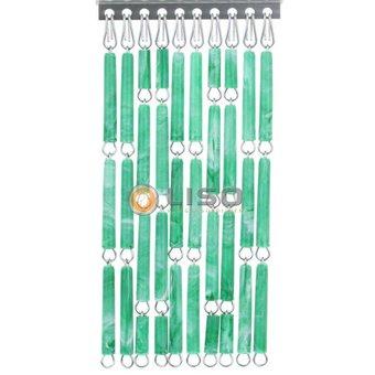 Liso ® Fliegenvorhang DIY Liso® Green geflammt