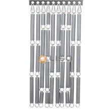 vliegengordijn Liso ® Fliegenvorhang Silber - Do-it-yourself Paket / m2