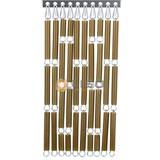 Liso ® Vliegengordijn Goud/brons - Doe-het-zelf pakket / m2