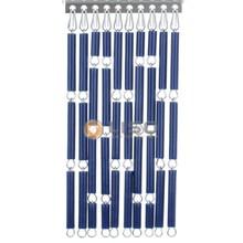 Liso ® Vliegengordijn Donkerblauw - Doe-het-zelf pakket / m2