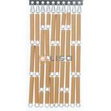 Liso ® Vliegengordijn Caramel - Doe-het-zelf pakket / m2
