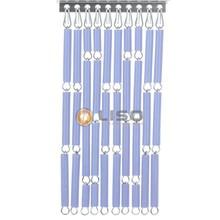 Liso ® Vliegengordijn Lila - Doe-het-zelf pakket / m2