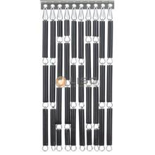 Liso ® Vliegengordijn Antraciet - Doe-het-zelf pakket / m2