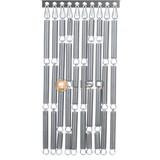 Liso ® Vliegengordijn Zilver - kant en klaar 92 x 209