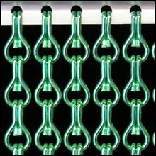 Kriska ® Kettinggordijn Lichtgroen: Op maat gemaakt | Prijs per m²