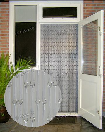 Liso fliegen Vorhang transparent