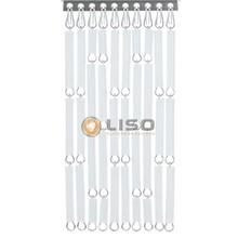 Liso ® Fliegenvorhänge weiß- fix und fertig 92 x 209