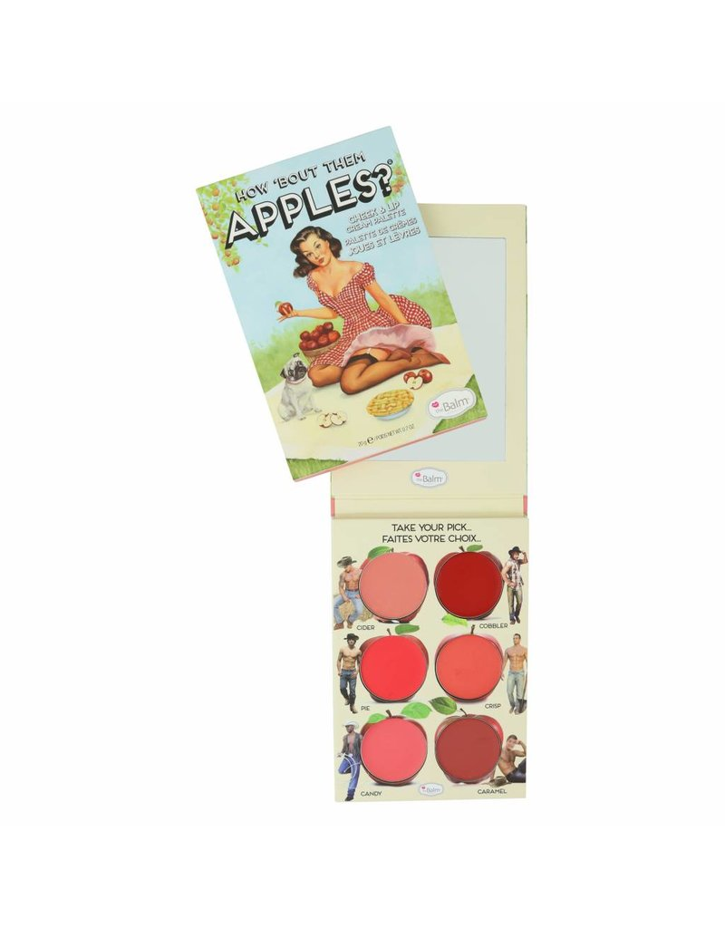 TheBalm®  How 'Bout Them Apples?® - Lip and Cheek Cream Palette