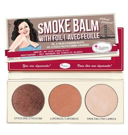 TheBalm®  SmokeBalm Vol. 4 - foiled eyeshadow palette