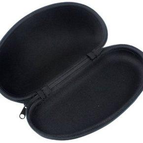 Black glasses case