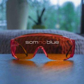 Blauw licht blokkerende slaapbril (brildragers) SB-F2