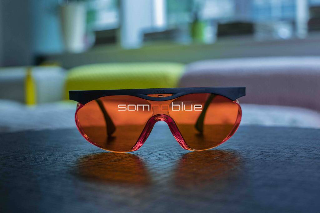 Bril Met Licht : Oranje bril tegen blauw licht