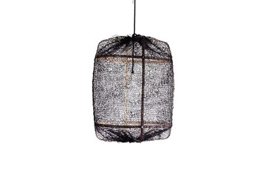 Z1 BLACK BAMBOO WITH SISAL NET BLACK COVER