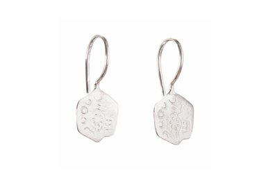 BETTY BOGAERS || OLD LITTLE COIN EARRING