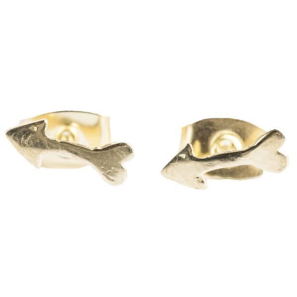 BETTY BOGAERS Betty Bogaers || Little Arrow Stud Earring Gold Plated