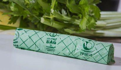 Bio composteerbare afvalzakken