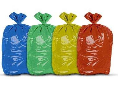 Afvalzakken en Bio afvalzakken