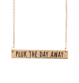 Pluk PRE-ORDER PLUK THE DAY AWAY NECKLACE