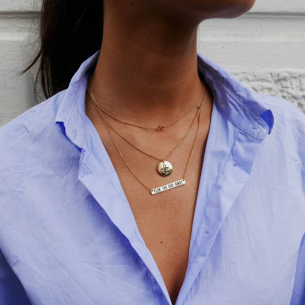 Pluk PLUK THE DAY AWAY NECKLACE
