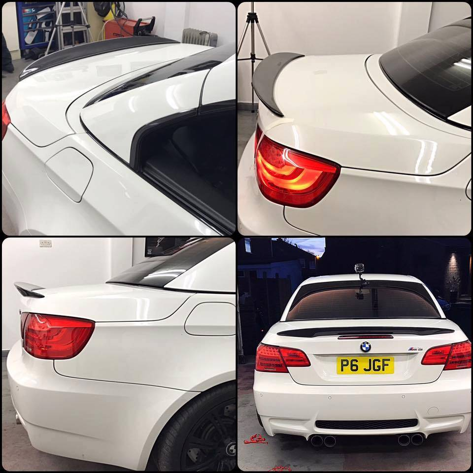 Review and fitting video of our BMW E93 M3 spoiler!
