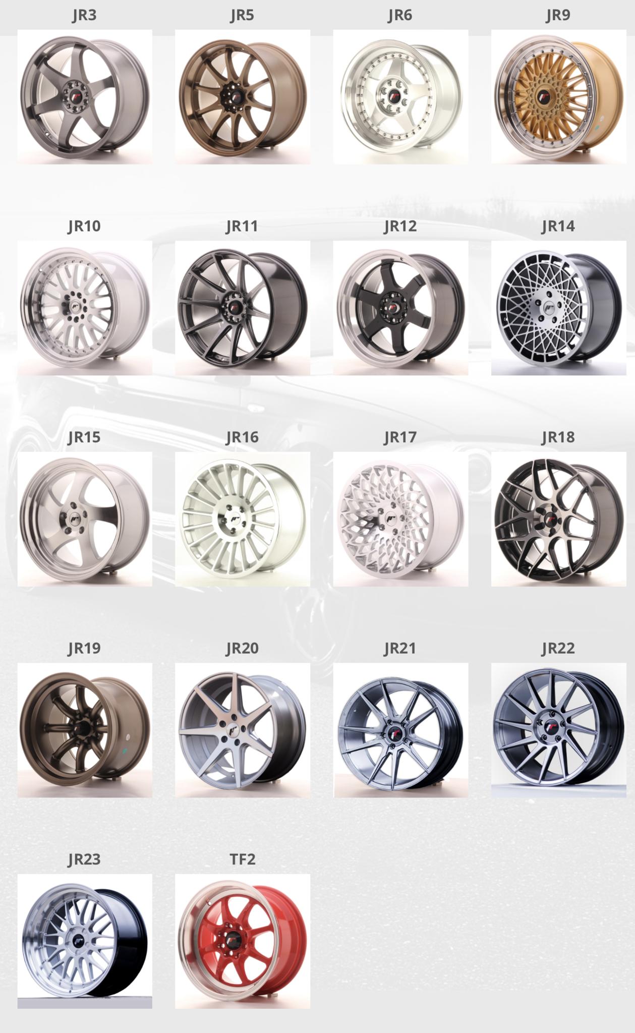 Japan Racing Jr Wheels Velgen Bij Jh Parts Jhparts