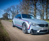 BMW M3 F80 30 Jahre, carbon parts