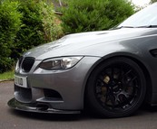 BMW E92 M3 Carbon GT4 lip & side skirt extensions