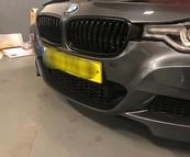 BMW F30 F31 3 Serie Hoogglans zwarte grill