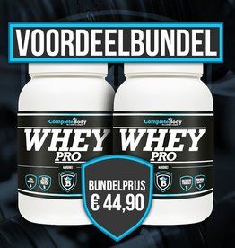 Completebody Whey Pro Bundel