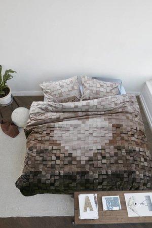 At Home At Home Dekbedovertrek Wooden Heart